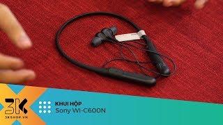 Unboxing Sony WI-C600N   Tai nghe chống ồn chủ động giá rẻ đến từ Sony