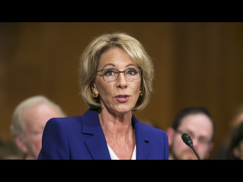 BREAKING: Two Republicans Will Vote NO On Betsy DeVos