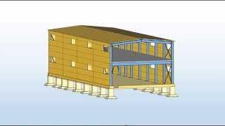 видео Как возводятся здания из сэндвич-панелей?