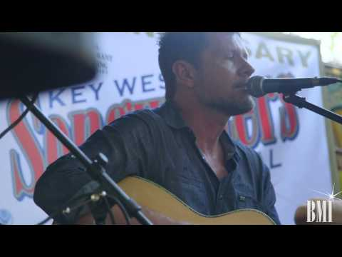 Lee Thomas Miller Interviewed at Key West Songwriters Festival