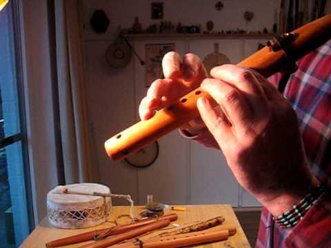 Red Cedar Flute high D 5 hole NAF