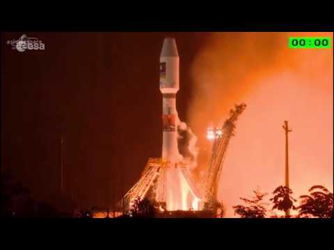 Galileo 13 & 14 - Liftoff replay