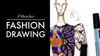 STAINED GLASS INSPIRATION P.2 | Fashion Drawing