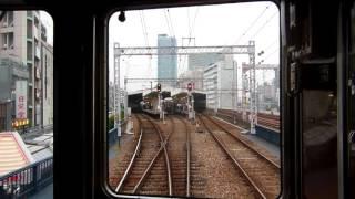 【阪急電鉄】大爆音! 大爆走! 神戸線5000系前面展望 新開地→梅田