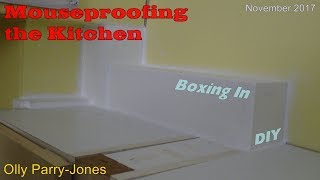 Mouseproofing the Kitchen