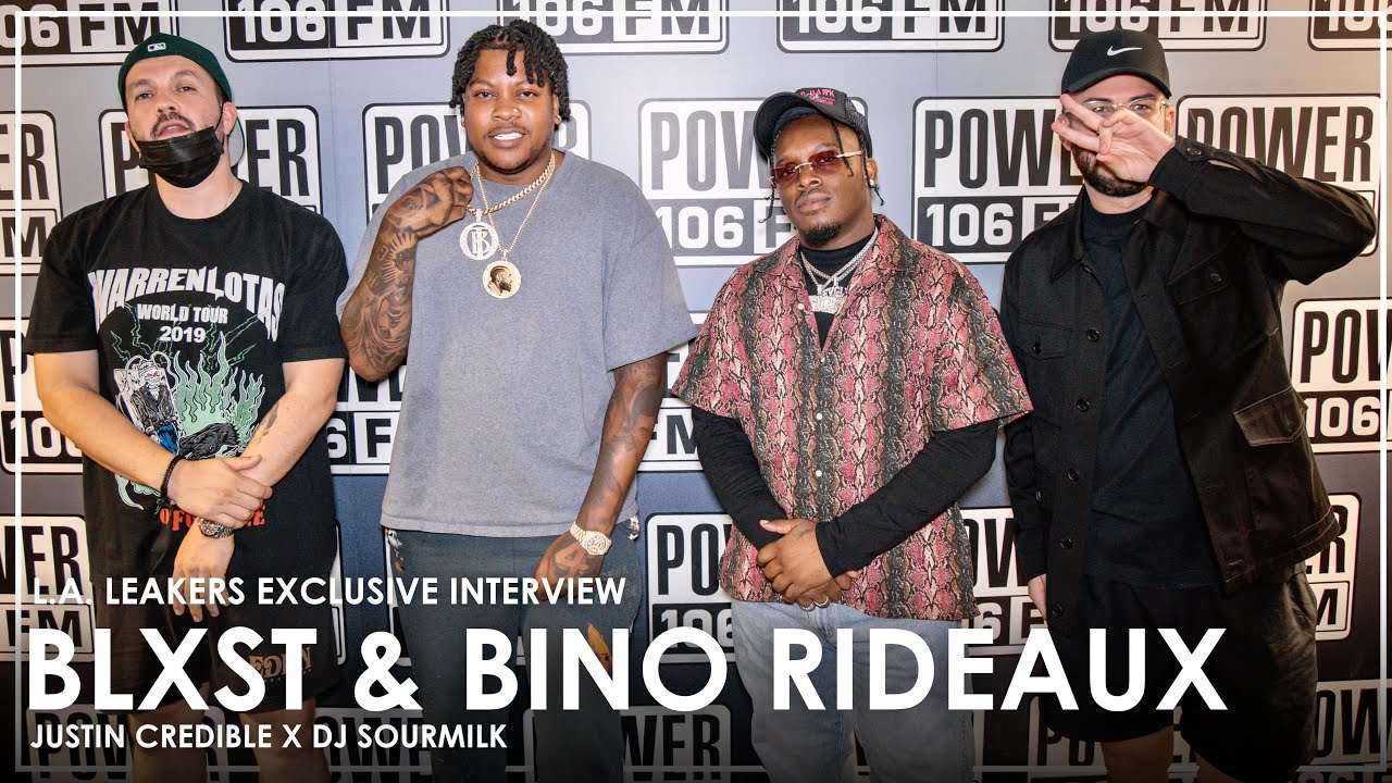 Blxst & Bino Rideaux Detail Nipsey Hussle Impact On Their Lives & Music + Talk 'Sixtape 2' Chemistry