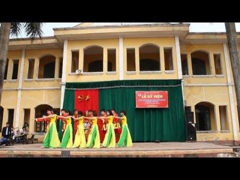 BẢN HÙNG CA CHIM LẠC, múa của 12A1 THPT B Duy Tiên, Hà Nam chào mừng 26-3-2016