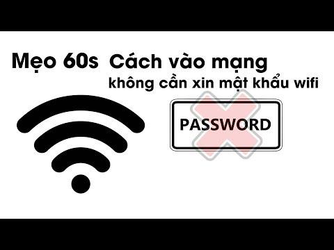 cách hack mật khẩu wifi bằng điện thoại samsung - Mẹo 60s - Cách vào mạng mà không cần xin mật khẩu wifi  Phát Thành Mobile