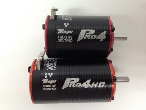 Tekin Pro4 vs Pro4HD Brushless Motor Comparison