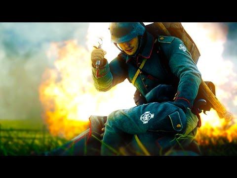 BATTLEFIELD 1 - I WILL SAVE YOU! I CAN BE YOUR HERO! (BF1 Medic Gameplay)