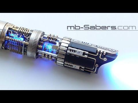 GRAFLEX Lightsaber with spinning Plasma Gate and Emitter