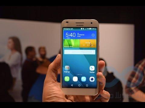 نظرة على الهاتف Ascend G7:معالج 64 بت بأمكانيات رائعة