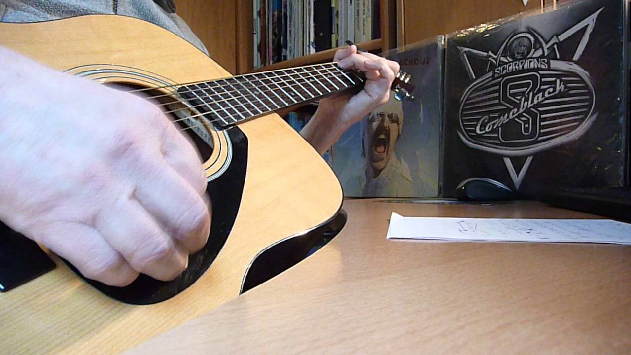 Frank Sinatra My Way On Acoustic Guitar With Frank Chords On