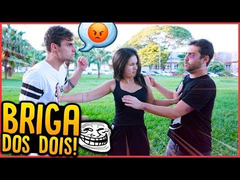 BRIGAMOS FEIO!! - TROLLANDO MINHA AMIGA [ REZENDE EVIL ]