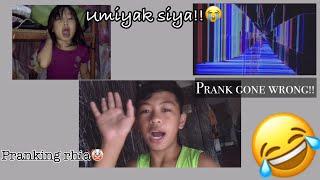 Broken T.V prank gone wrong|LT🤣 umiyak yung batang makulit😂