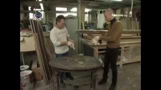 видео реставрация мебели