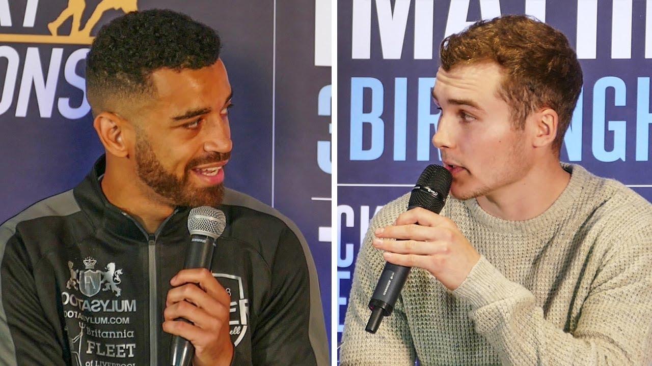 Sam Maxwell vs Connor Parker PRESS CONFERENCE | Frank Warren Boxing #1