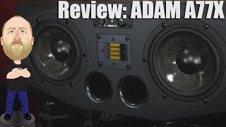 Review: Adam A77X Studio Monitors