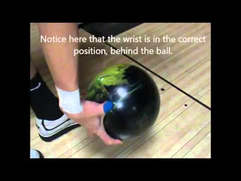 Bowling Hand Positions: The Cupped Bowling Hand Position