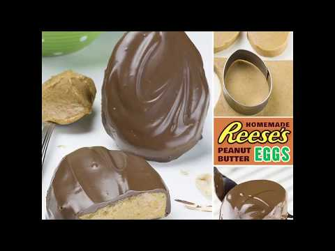 Homemade Reese's Peanut Butter Easter Eggs