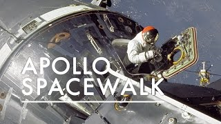 The Majesty of the First Apollo Spacewalk