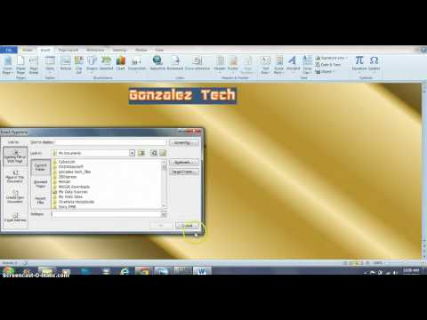 How to make a Website on Microsoft Word 2010
