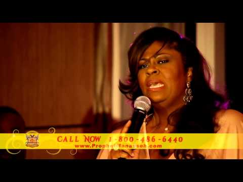"Prophet Manasseh Jordan asked Kim Burrell to sing ""I LOOK TO YOU and IT IS WELL"""