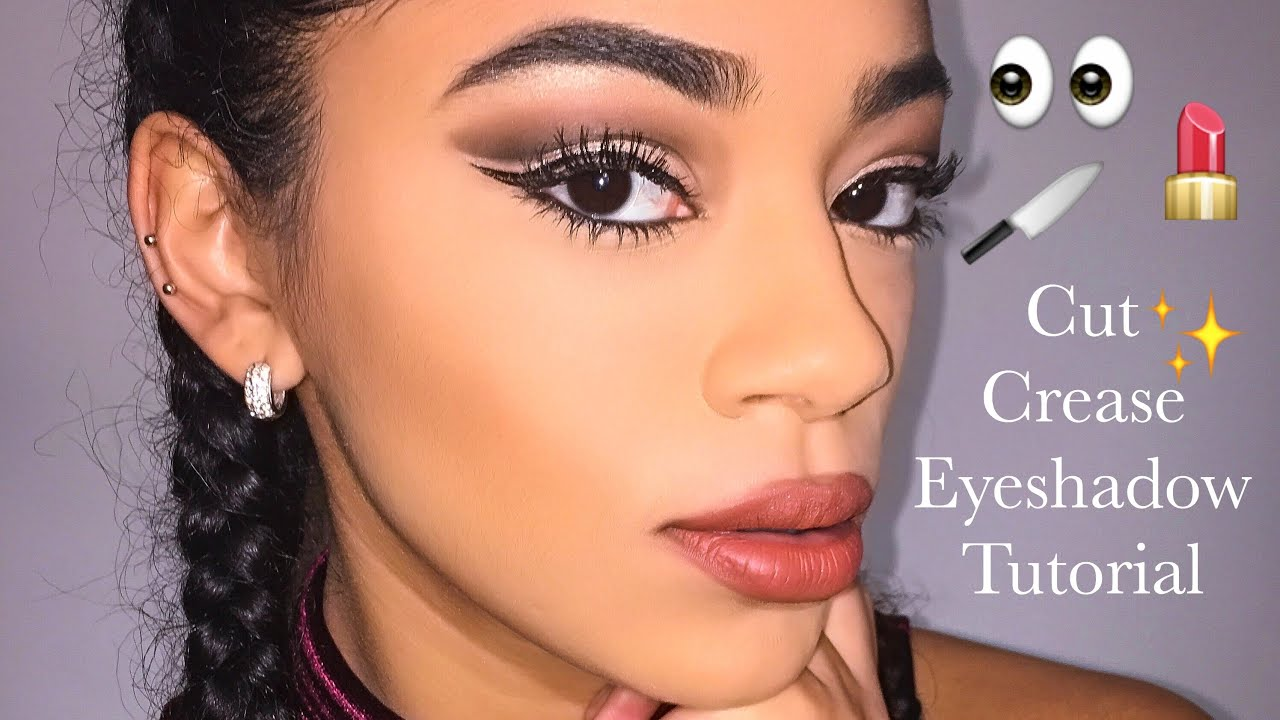 Cut Crease Eyeshadow Tutorial | jasmeannnn - YouTube - photo #1