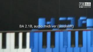 Cover images [Black midi]BA 2.1 billion audio ver(KMC&Coolsoft)