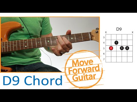 D9 Guitar Chord @ worshipchords