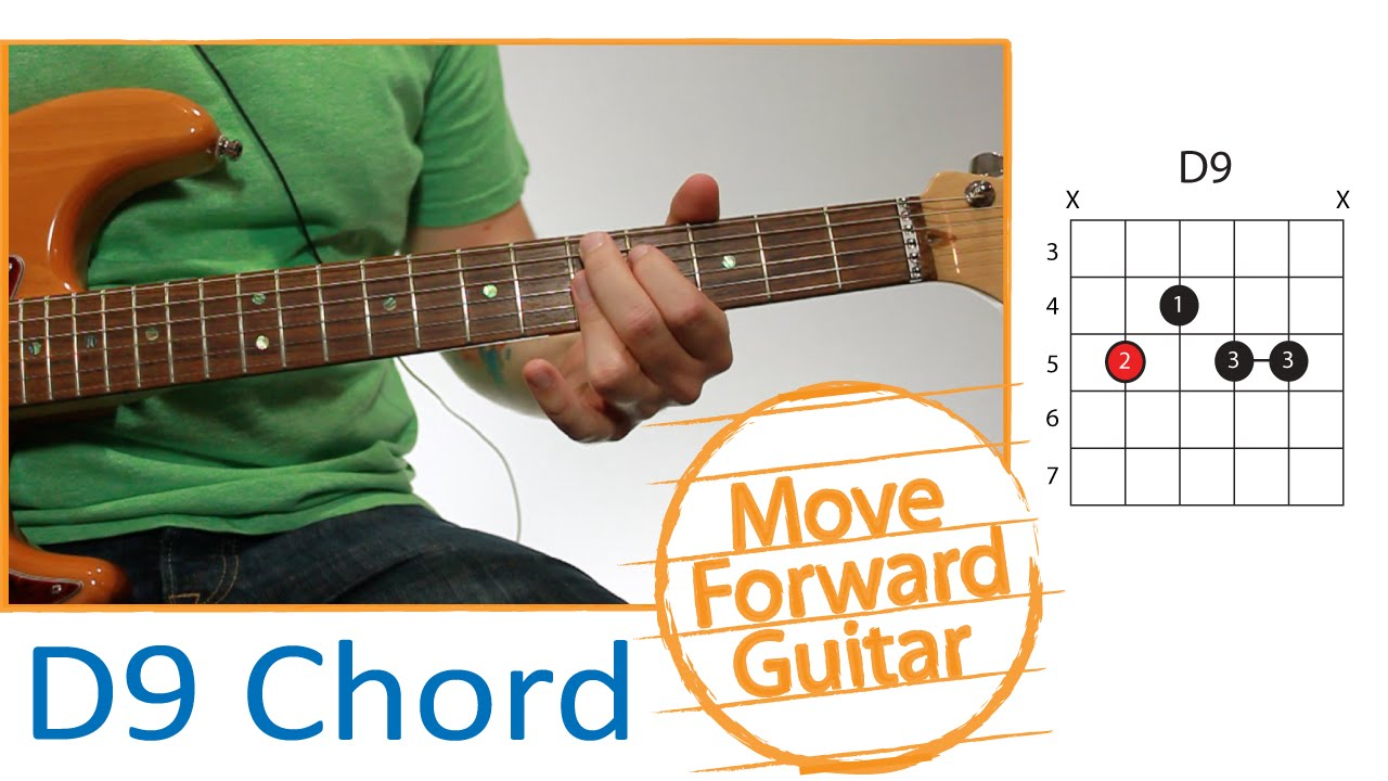 Guitar Chords D9 Part 1 Finger Placement Youtube