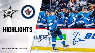 nhl-highlights-stars-jets-11-10-19