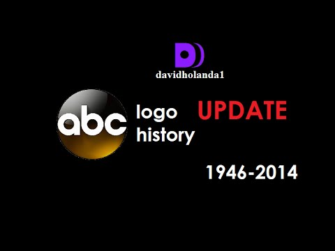 History of ABC (American Broadcasting Company) Logos 1946-2014 (Update)