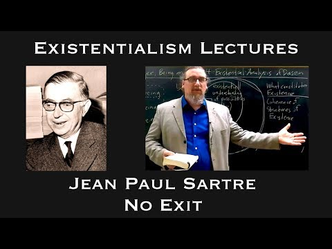 "the description of hell in the play no exit by jean paul sartre No exit: no exit, one-act philosophical drama by jean-paul sartre the play proposes that ""hell is other people"" rather than a state created by god."