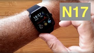 RUNDOING N17 (NY17) Ultra-Thin Multi-Sport Blood Pressure IP68 Smartwatch: Unboxing and 1st Look