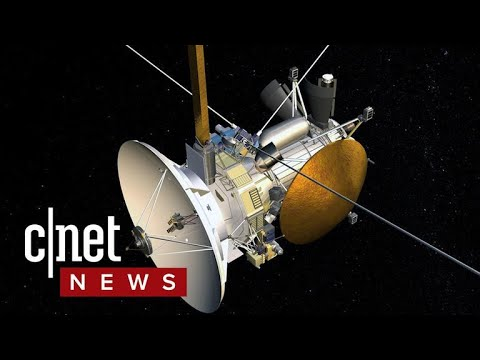 Cassini crashes into Saturn ending its 20 year mission