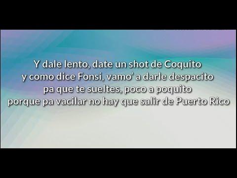 Pedro Capó Farruko - Calma Remix Letra  Lyric