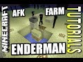 Minecraft PS4 - ENDERMAN FARM - AFK - Tutorial ( PE / PS3 / XBOX / WII U )