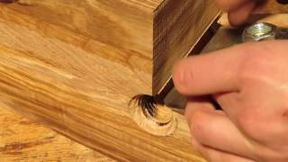 How to make the dowel