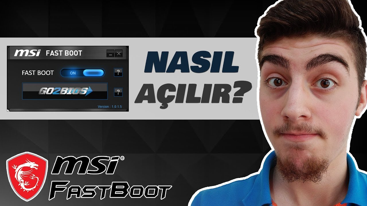 How to Open Fastboot Feature on Msi Laptops - (Windows 10)