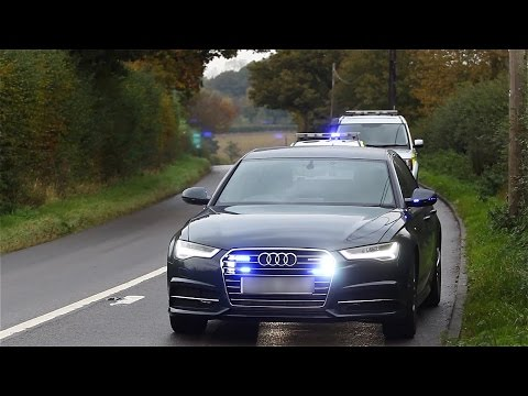 Sussex Police | RPU and CSI Officers on scene | Shortgate 2 vehicle RTC | 15.10.15