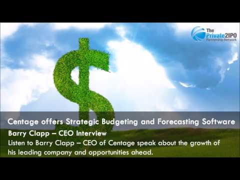 Centage offers Strategic Budgeting and Forecasting Software