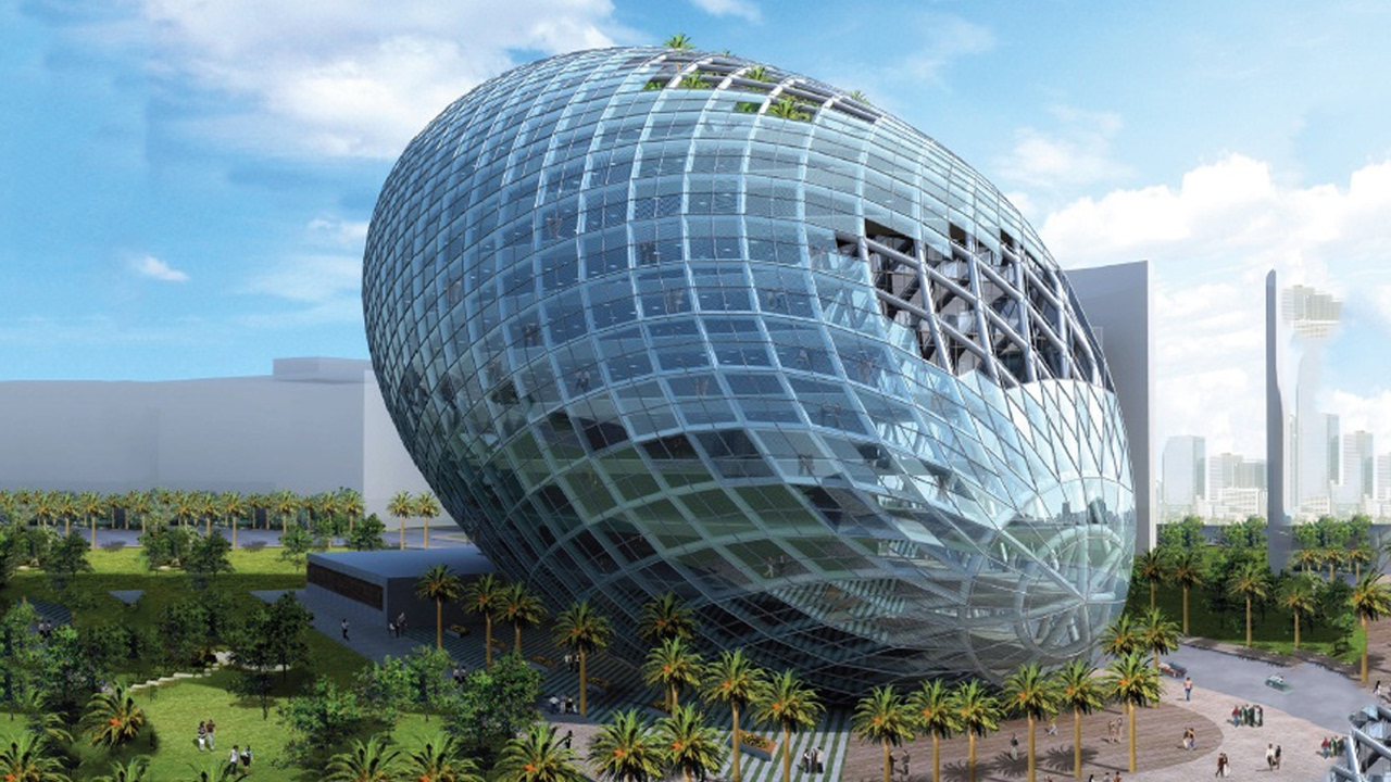 Top 10 most futuristic buildings in the world pastimers - Best architects in the world ...
