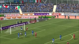 Nepal vs Italy  Nepal journey to World Cup 2014   Bholaaaaa.....!!!!!