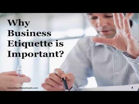World-Class Business Etiquette Training