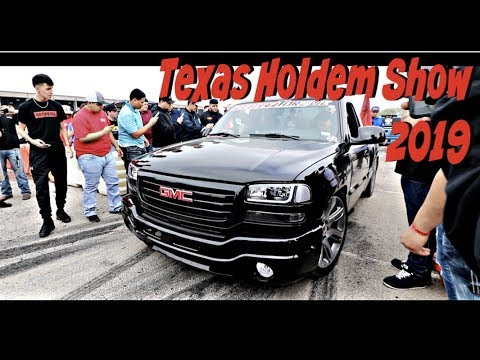TEXAS HOLDEM TRUCK SHOW 2019/ DESTROYING TIRES