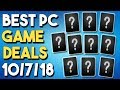 Top 10 BEST PC Game Deals Right NOW + Get Office and Windows 10 CHEAP!
