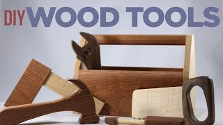 Mike Makes Toy Wood Tools!