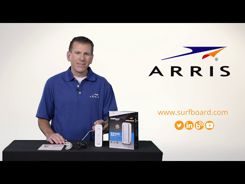 ARRIS – Setting up Your Surfboard SB6190 Cable Modem