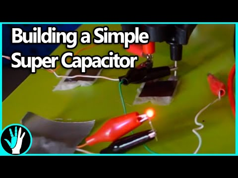 How To Make A Basic Supercapacitor